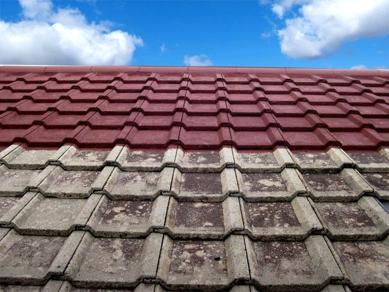 Tiled Roof Painter