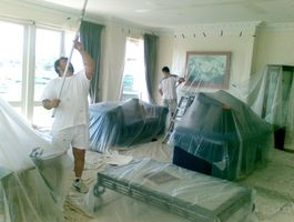 residential painting preparation
