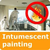 services intumescent paint